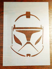 Clone Trooper Star Wars Stencil Mask Reusable Mylar Sheet for Arts & Crafts, DIY