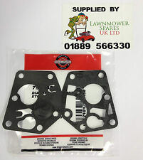 MOUNTFIELD LAWNMOWER BRIGGS & STRATTON 35 ENGINE CARBURETTOR GASKET KIT 795083