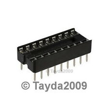 10 x 16 pin DIP IC Sockets Adaptor Solder Type