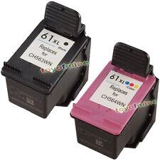 Cartuccia di inchiostro 2x ha riempito per HP 61XL Deskjet 1050 2050
