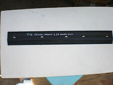 BMW E36 sedan front door sill black trim with clips Left or right side 3-Series