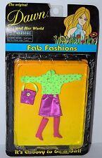 Toy-O-Rama Dawn Doll Fab Fashion Outfit NRFB Lot #3