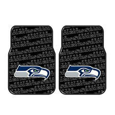 Brand New NFL Seattle Seahawks Car Truck Front Rubber Floor Mats 2pcs Set