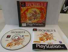Console SONY Playstation PSOne PS1 PAL ITALIANO Terry Pratchett's DISCWORLD II 2