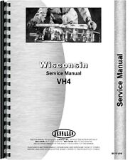 International 3200A Skid Steer Wisconsin Engine Service Manual WI-S-VH4