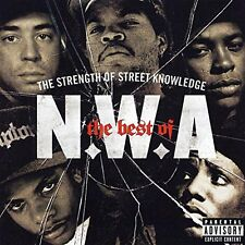 N.W.A.: THE STRENGTH OF STREET KNOWLEDGE THE VERY BEST OF CD GREATEST HITS / NEW