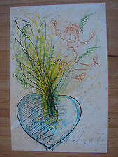 Original signed Dale Chihuly Two Putti 2001 PERFECT with documentation