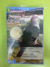 Malaysia Bird Series no.11 Coins Card 10set