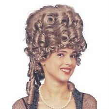 Baroque Georgian Dame MaskedBall Ringlet Empress Wig Fancy Dress NEW P2134