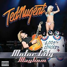 Motor City Mayhem PA by Ted Nugent CD Jun-2009 2 Discs Eagle Rock USA Brand New!