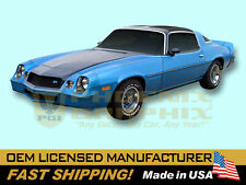 1980 Chevrolet Camaro Rally Sport RS Decals Stripes Kit