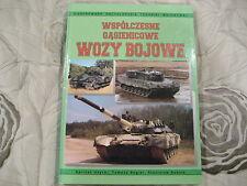WSPOLCZESNE  WOZY  BOJOWE       POLISH BOOK  POLAND RADOM