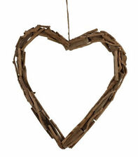 40 cm Driftwood Heart  Wreath ~ Flower Arranging ~ Wedding ~ Home Decor 87-0043