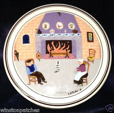 VILLEROY & BOCH LUXEMBOURG DESIGN NAIF CANDY BOX & LID MAN WOMAN CAT BY FIRESIDE