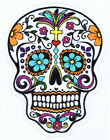 Blue Eyes MEXICAN SKULL Sticker for Skateboard Scooter BMX Guitar Phone Case