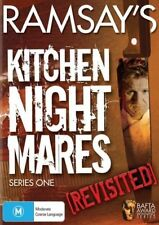Ramsay's Kitchen Nightmares revisited series 1 DVD R4 THE CASE is NEW