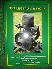 The Lister A & B Story History Evolution Development STATIONARY ENGINES 23-63