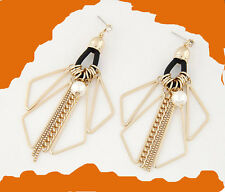 MARNI H&M Triangle Tassel Earrings