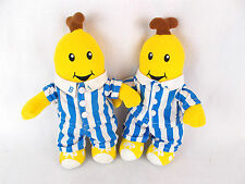 "Lot of 2 Bananas in Pajamas B1 & B2 11"" Plush Dolls 1995 TOMY"