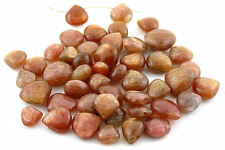 10 Carat Heart Shape Natural Sunstone Gem Stone Gemstone Bead JMN118