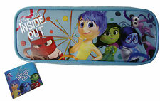 Disney Inside Out Pencil Case Box Bag Pouch Blue