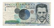 COLOMBIA 20000 PESOS 2008 PICK 454 LOOK SCANS