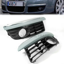 Front Bumper Lower Fog Light Extrusion Grille for VW Jetta Bora MK5 05 06 07 CT