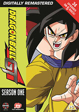 DRAGON BALL GT SEASON 1 (EPISODES 1 TO 34) - DVD - REGION 2 UK