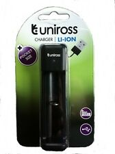 UNiROSS FAST Li-ION CHARGER for 18650, 18350, 18500, 14500, RCR 123A