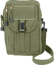 Olive Drab Heavy Duty Canvas Classic Passport Travel Pouch