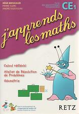 J'APPRENDS LES MATHS CE1 RETZ + PARIS POSTER GUIDE