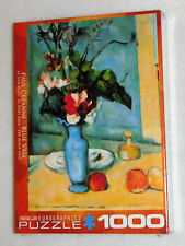NIB Eurographics Paul Cezanne Blue Vase Art Jigsaw Puzzle 1000 Pieces 19x26 NEW