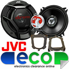 Volvo V40 1996 - 2014 JVC 13cm 520W 2 Way Front Door Car Speakers & Brackets