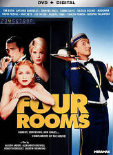 Four Rooms [DVD + Digital], Very Good DVD, ,