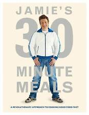 JAMIE'S 30 MINUTE MEALS Cookbook - Jamie Oliver  HC Full size