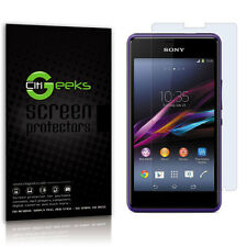 CitiGeeks® Sony Xperia E1 Screen Protector Crystal HD Clear Glossy [6-Pack]