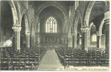 OLD POSTCARD OF - 1923 BEXHILL-ON-SEA - INTERIOR OF ST BARNABAS CHURCH