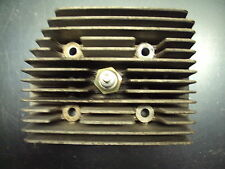 1980 80 SKI DOO CITATION 4500 ROTAX SNOWMOBILE ENGINE CYLINDER HEAD SPARK PLUG