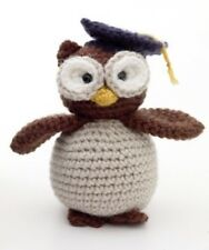 Crochet Pattern To Make A Graduation Owl Keepsake Gift Toy