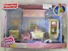 NEW Fisher Price Loving Family Dollhouse NEW ADDITIONS BATH TIME BABY BOY ROOM