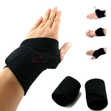 1Pcs Black Useful F.I.R Thumb Loop Splint Wrist Brace Support Strap Pain Relief
