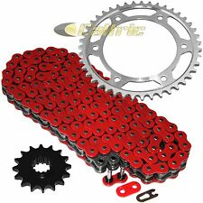 Red O-Ring Drive Chain & Sprockets Kit Fits HONDA CBR600RR 2003 2004 2005 06