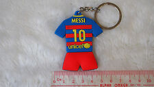 kiTki Barcelona 10 Messi football soccer keychain key chain ring jersey new