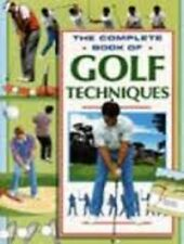 Complete Book of Golf Techniques by Parragon Plus (Paperback, 1996)