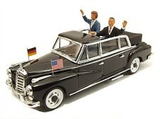 Mercedes 300 1963 Kennedy - Adenauer 1:43 Model RIO4264P RIO