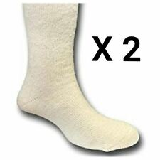 BRITISH ARMY ARCTIC SOCKS - GENUINE - SIZE - UK 5 - 8.5 - USED - X 2 PAIRS