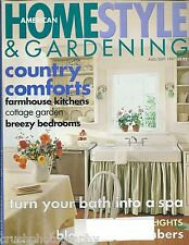 American HomeStyle & Gardening Magazine August / September 1997 Home Style