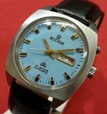 Vintage ricoh automatic japan 21j  working wrist watch @value for money@.