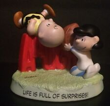 Hallmark Peanuts Fall Ball / Life Is Full Of Surprises Numbered  #0511