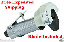 HIGH SPEED AIR PNEUMATIC WHEEL DISC STEEL METAL CUT OFF TOOL SAW BLADE INCLUDED